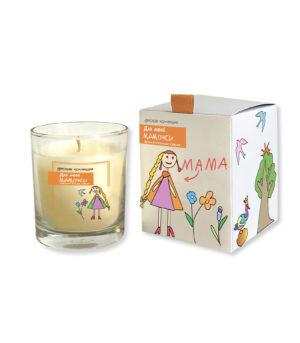 Ароматическая свеча подарок маме