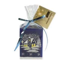 6х6х8 candle with tag card